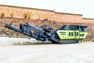 Crawler-type Impact Crusher Mobile Crushing Station