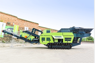 Crawler-type Hammer Crusher Mobile Crushing Station
