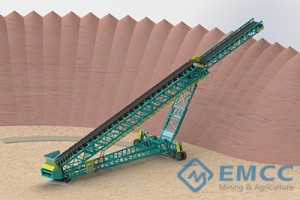 Mobile Telestack conveyor