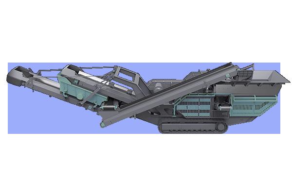 Crawler-type Impact Crusher Mobile Crushing Station Featured Image