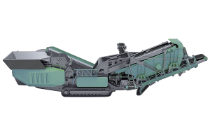 Crawler-type Crushing Screening Integrate Mobile Station